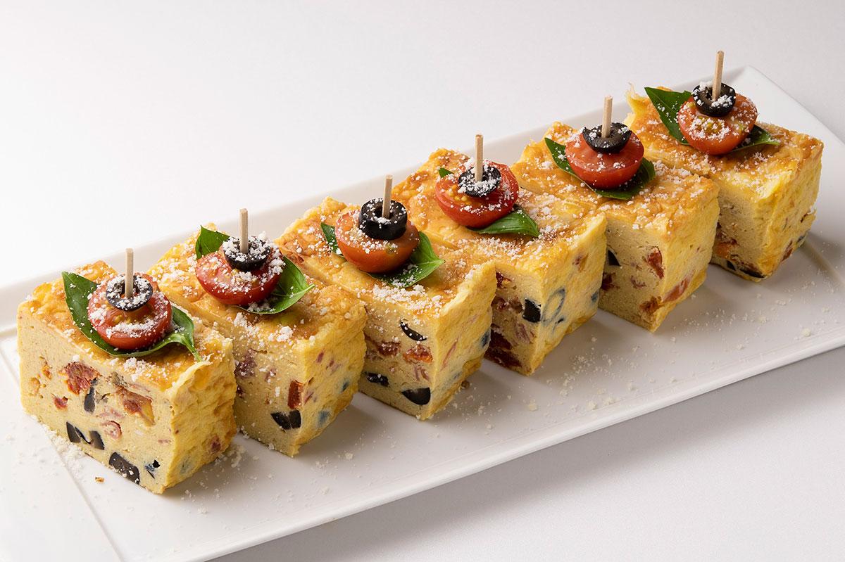 サラミとイタリア野菜のフリッタータ