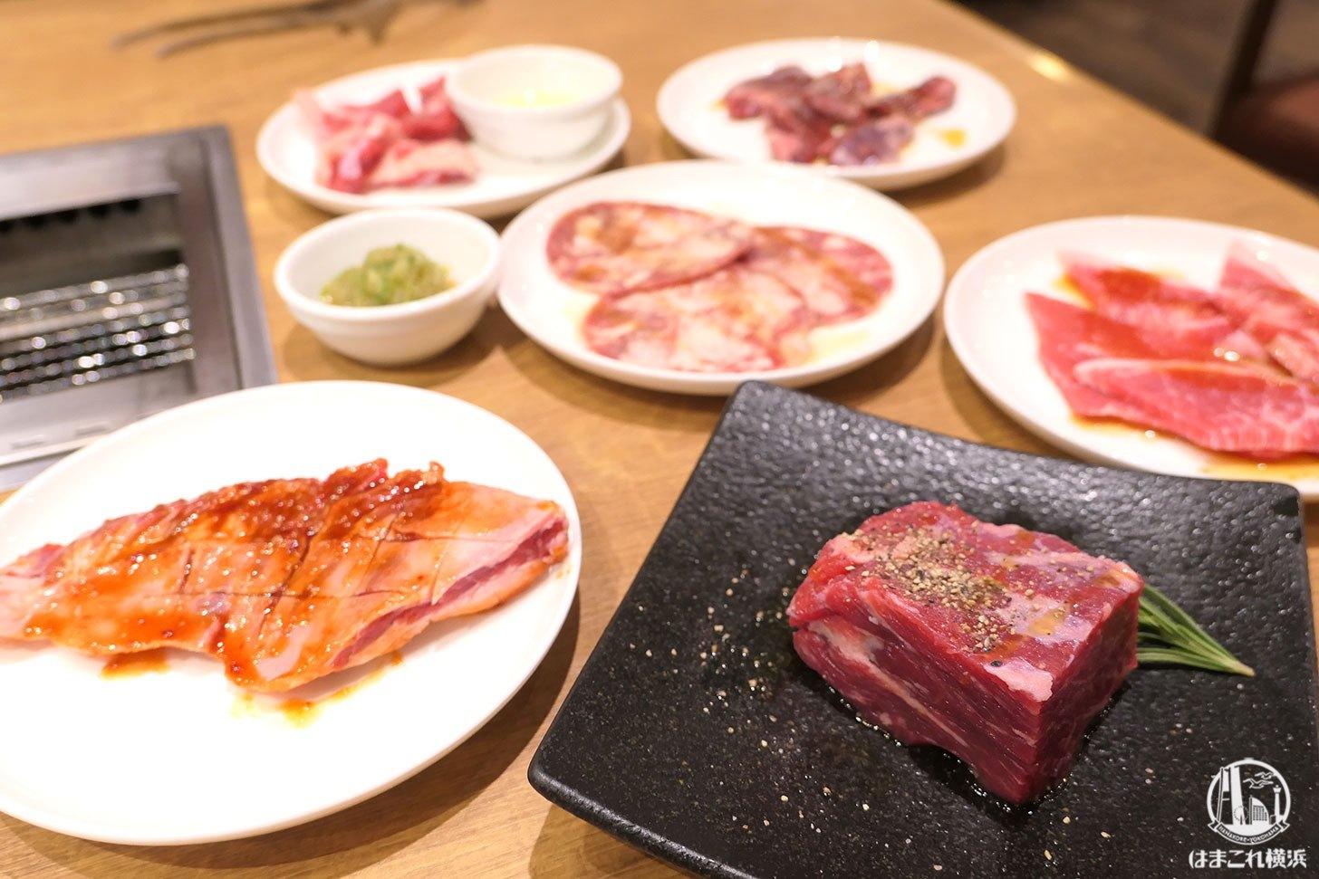 横浜のプレミアムカルビ上大岡店で焼肉食べ放題!業務スーパー発の焼肉店