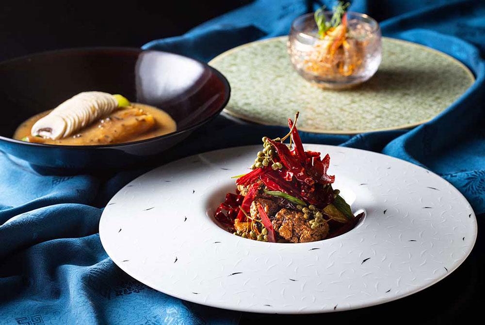 スーツァンレストラン陳、特別コース「秋の収穫祭」提供!豪華食材を四川料理で