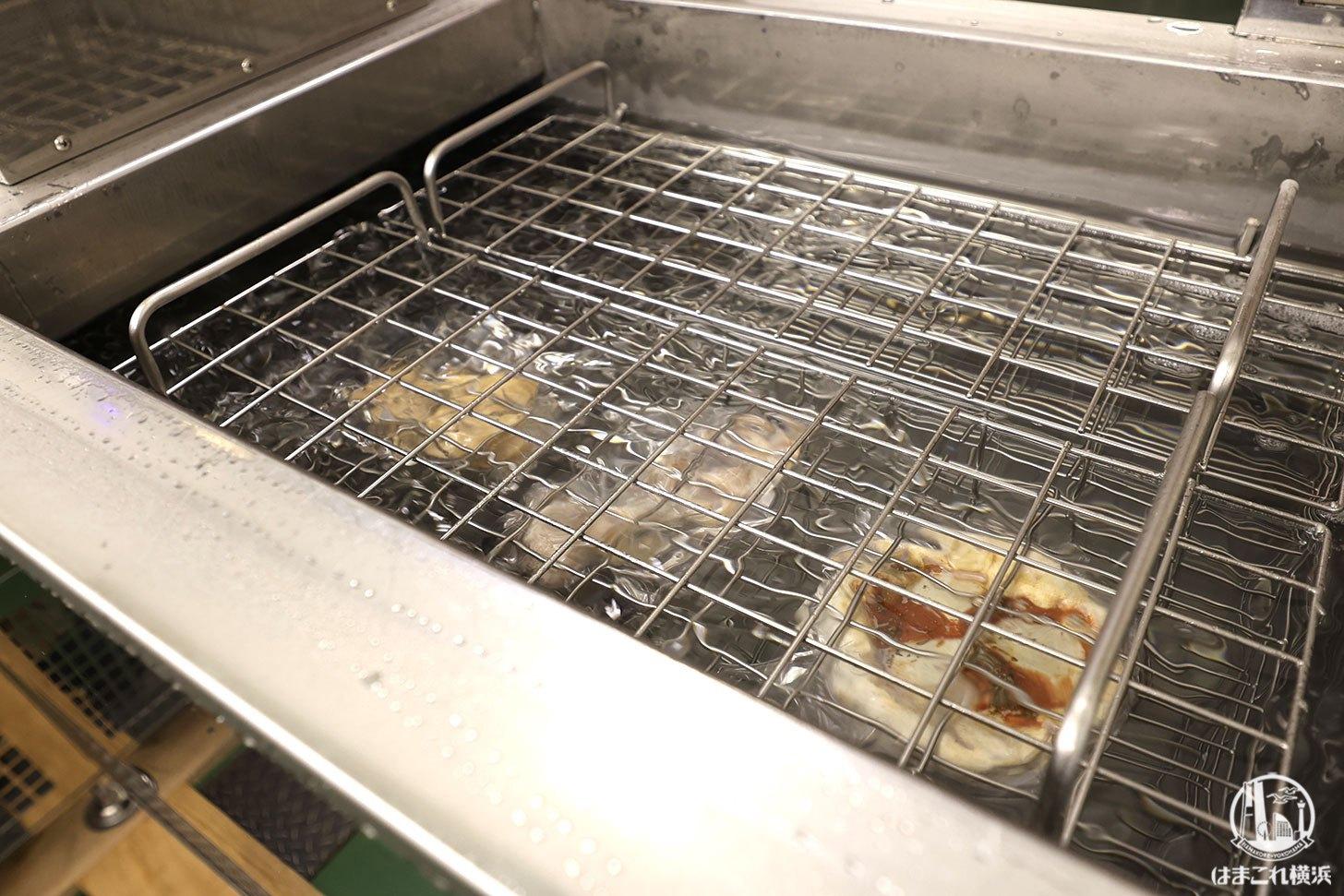 テク二カンの急速冷凍