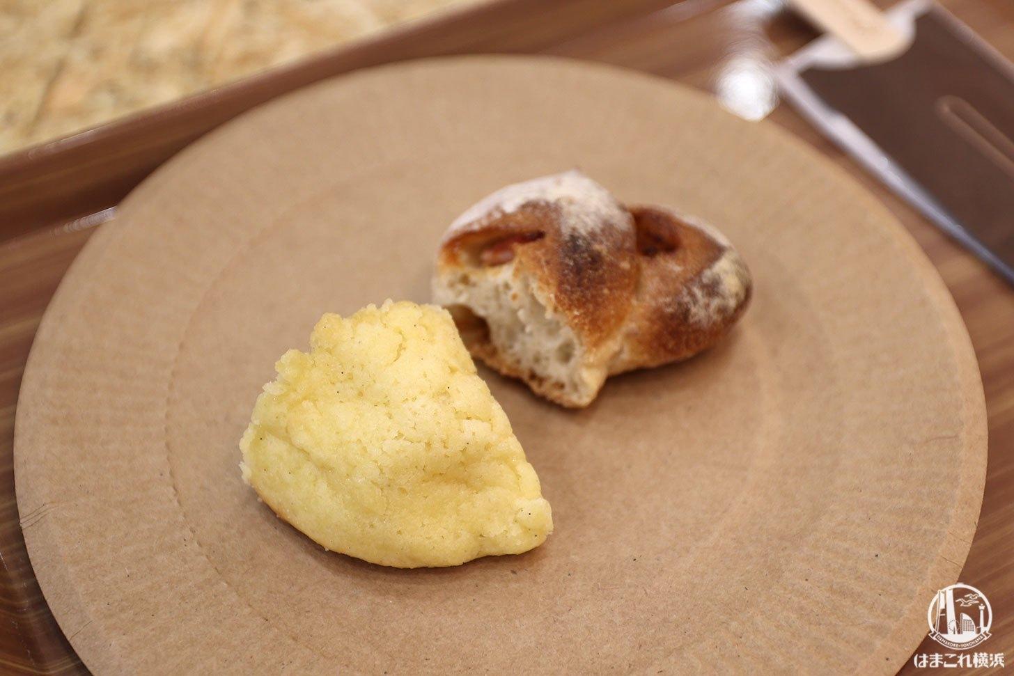 試食した冷凍パン