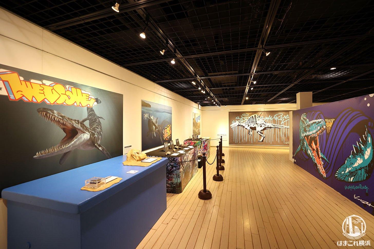 Gr8!こぶりな恐竜展 アートと恐竜のコラボ展示