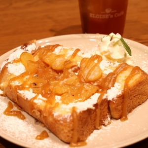エロイーズカフェ横浜ハンマーヘッドで人気フレンチトースト!イギリスパンが特徴