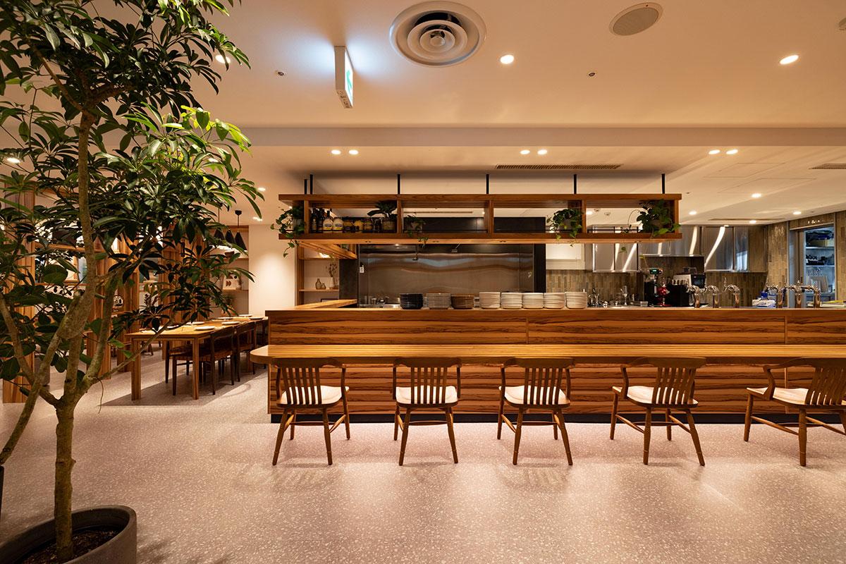 GARDEN HOUSE YOKOHAMA by KAMAKURA BEER 店内