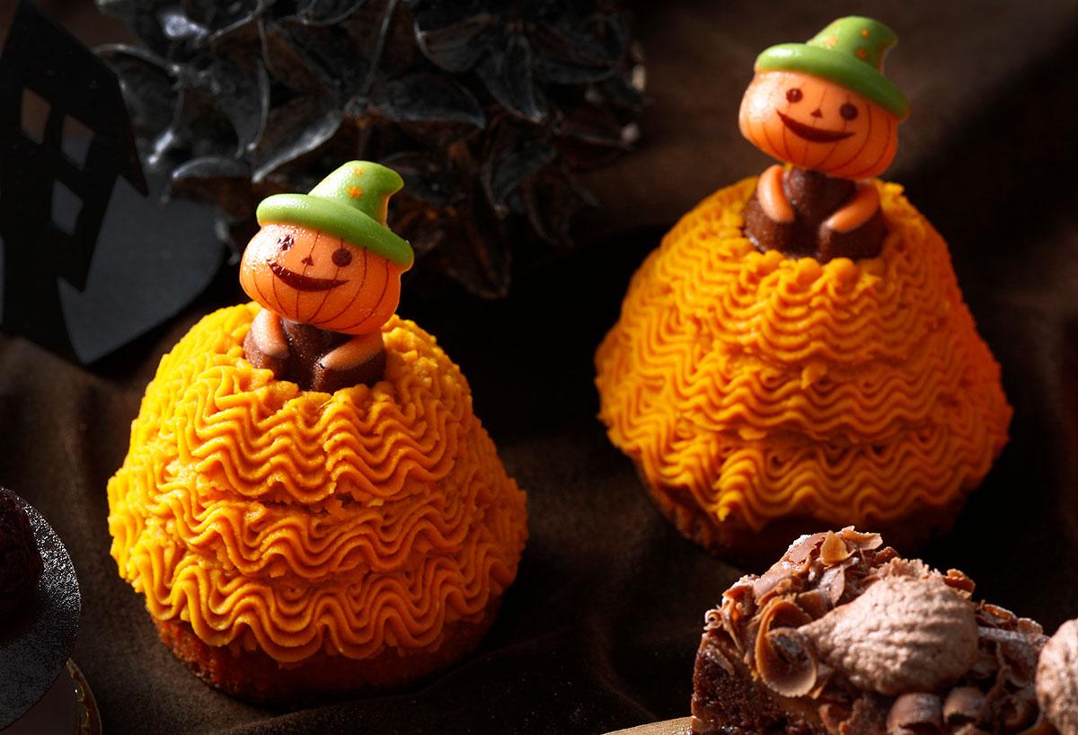 かぼちゃのモンブラン