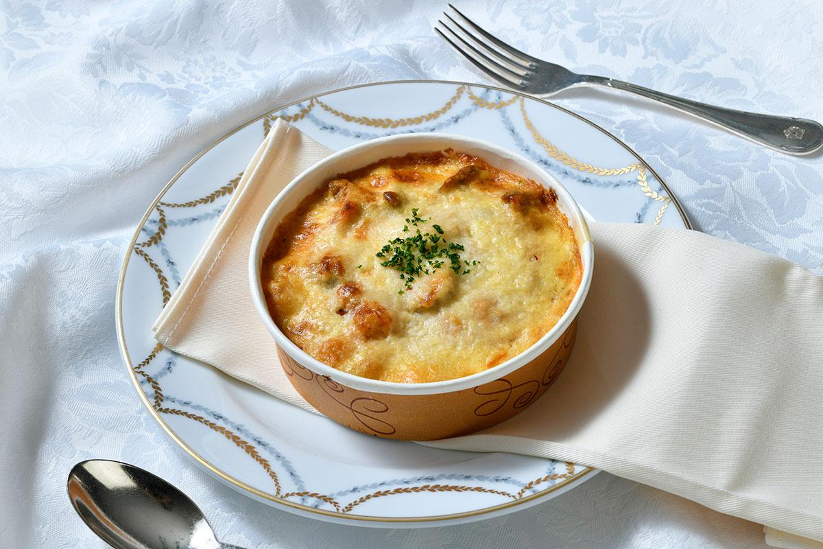 ホテルニューグランド 「シーフードドリアセット」オンラインで販売開始!伝統の味を自宅で