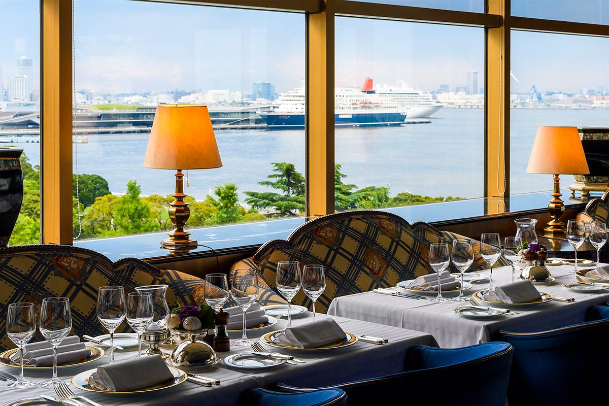 横浜・ホテルニューグランド「ル・ノルマンディ」秋の食材満喫のコース料理販売!