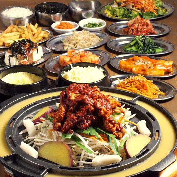 韓兵衛の全商品90分食べ放題+韓国ソフトドリンク飲み放題付
