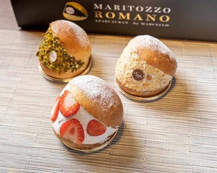 マリトッツォ専門店「マリトッツォロマーノ」そごう横浜店に!ローマ出身シェフが本物のマリトッツォを