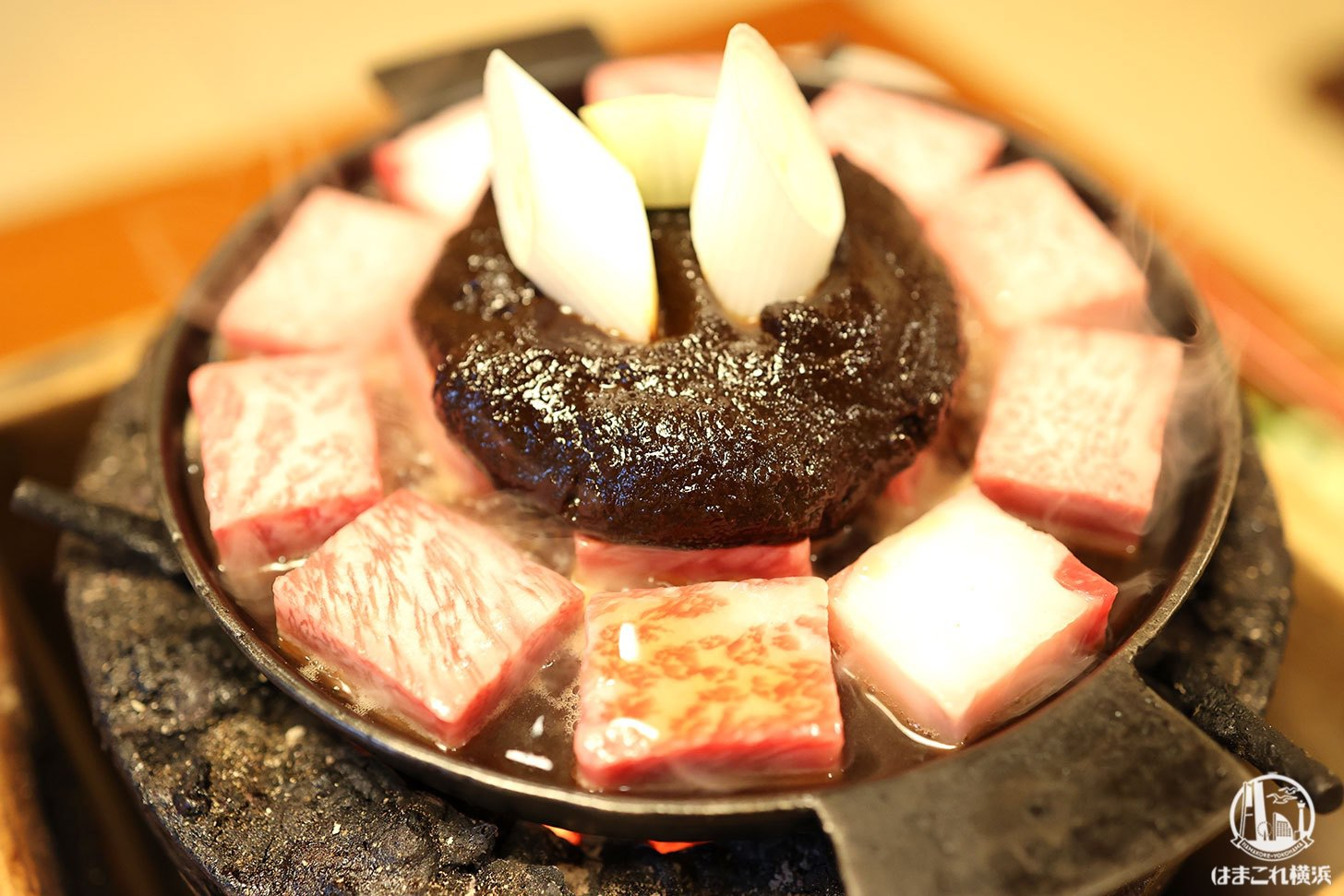 牛鍋のお肉