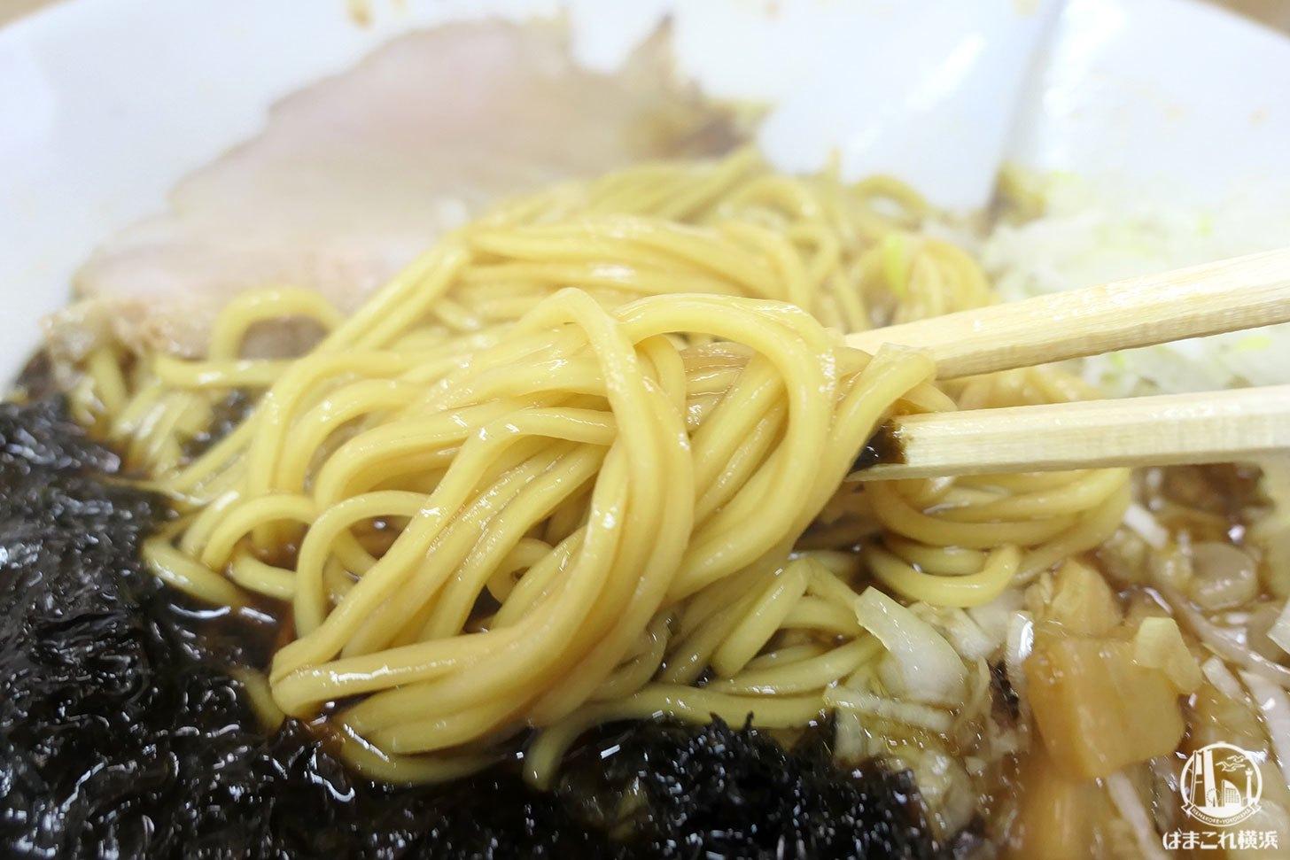 醤油そば 麺