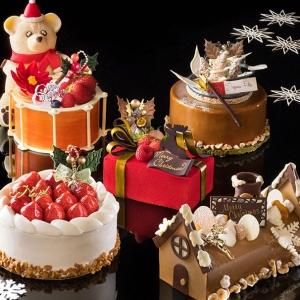 横浜ベイホテル東急の2021年クリスマスケーキは全6種!クマがモチーフのケーキなど