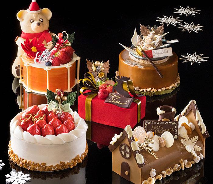 横浜ベイホテル東急の2021年クリスマスケーキは全6種!クマをモチーフにしたケーキなど