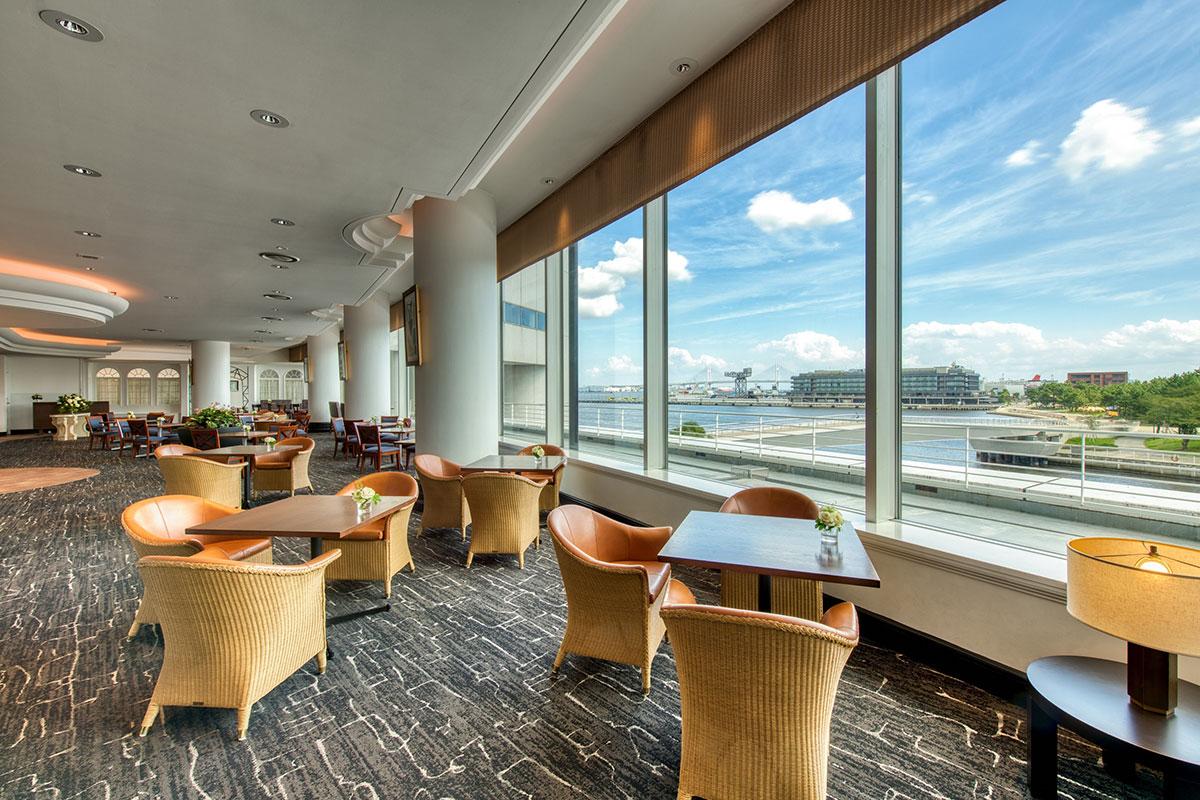 横浜のインターコンチネンタルホテル「クラブラウンジ」リニューアル!シーンにあわせた快適空間