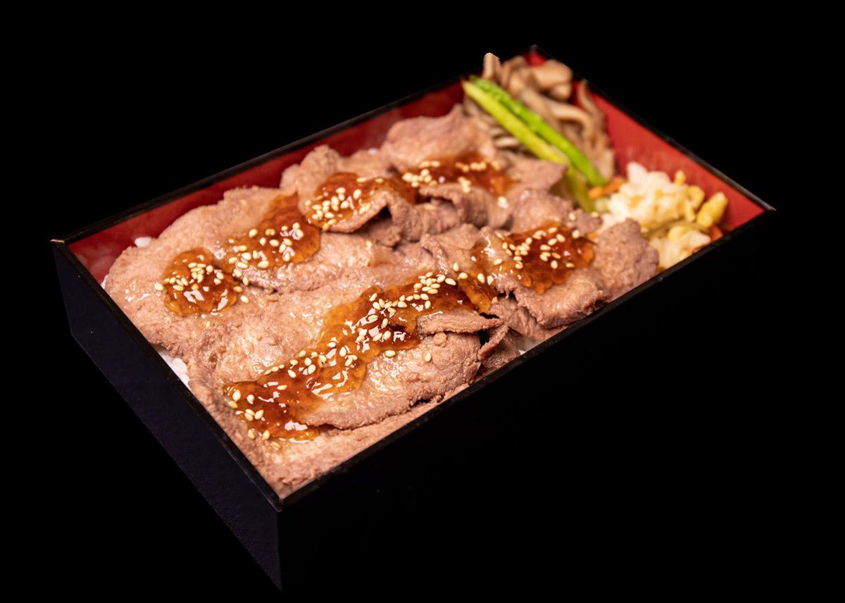 クロッサムモリタ「牛タンすき焼き弁当」