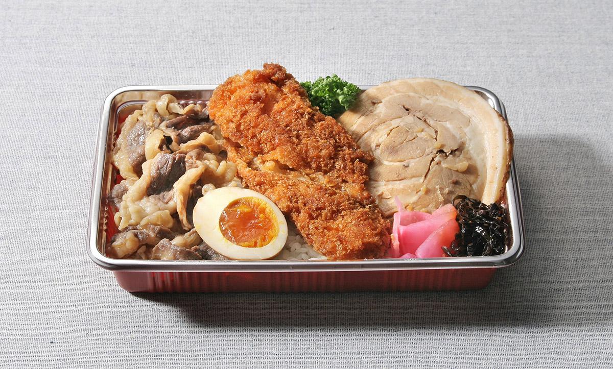 バーベキュー&イカフライ弁当 700円