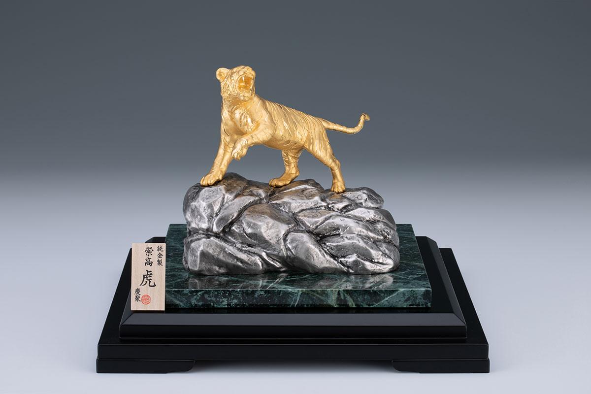K24崇高「虎」(約700g、高さ約16.0×幅約9.5㎝)14,212,000円