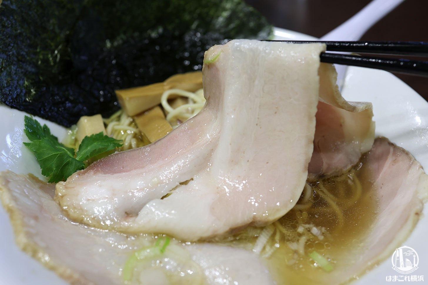 特製淡麗醤油ラーメン チャーシュー