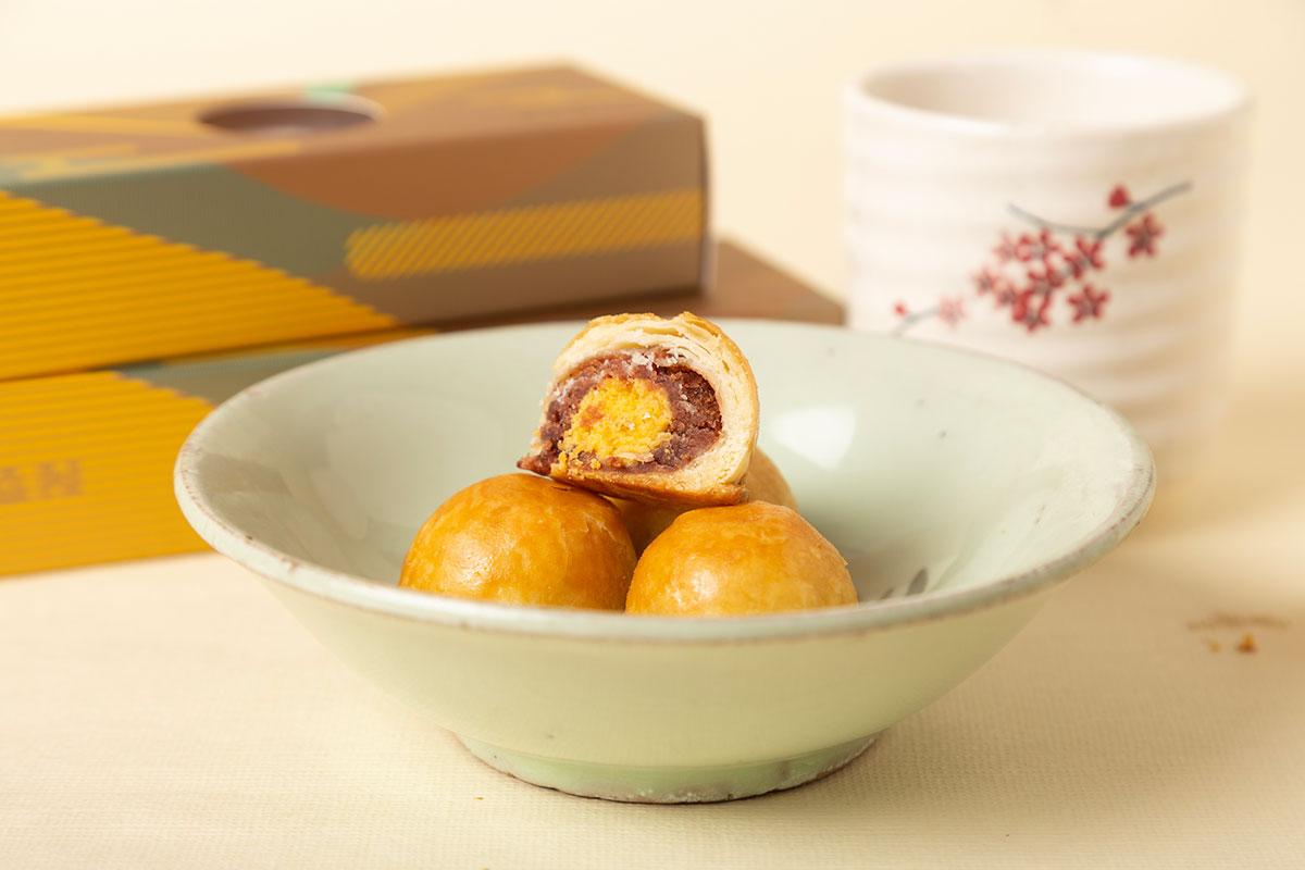 台湾式月餅「蛋黃酥」