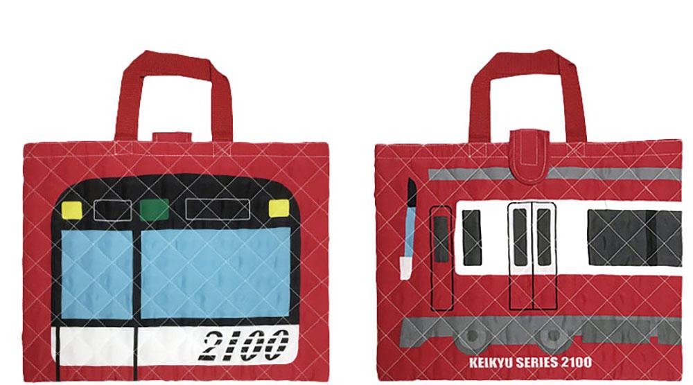 けいきゅう キルトレッスンバッグ(赤)1,800円