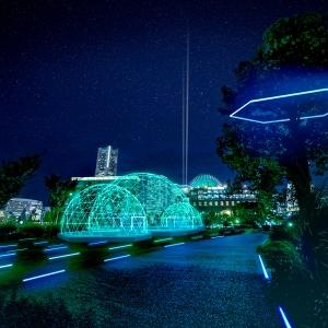 2021年 横浜イルミネーション「ヨルノヨ」開催!横浜港活用の躍動的イルミネーション