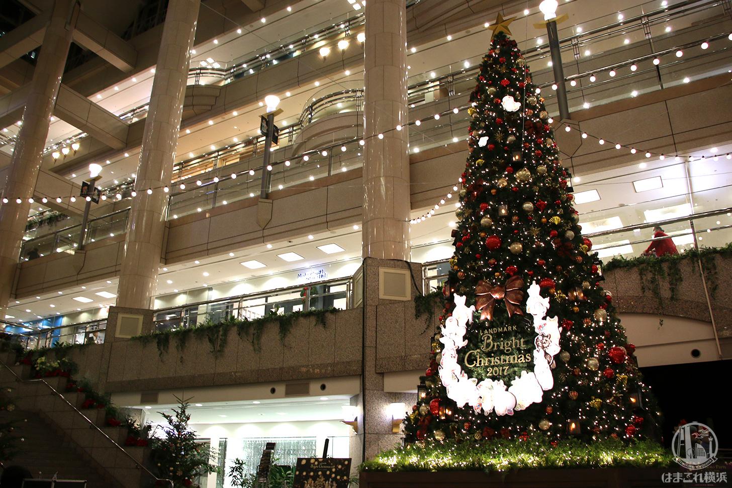 クリスマス・ランドマークプラザ