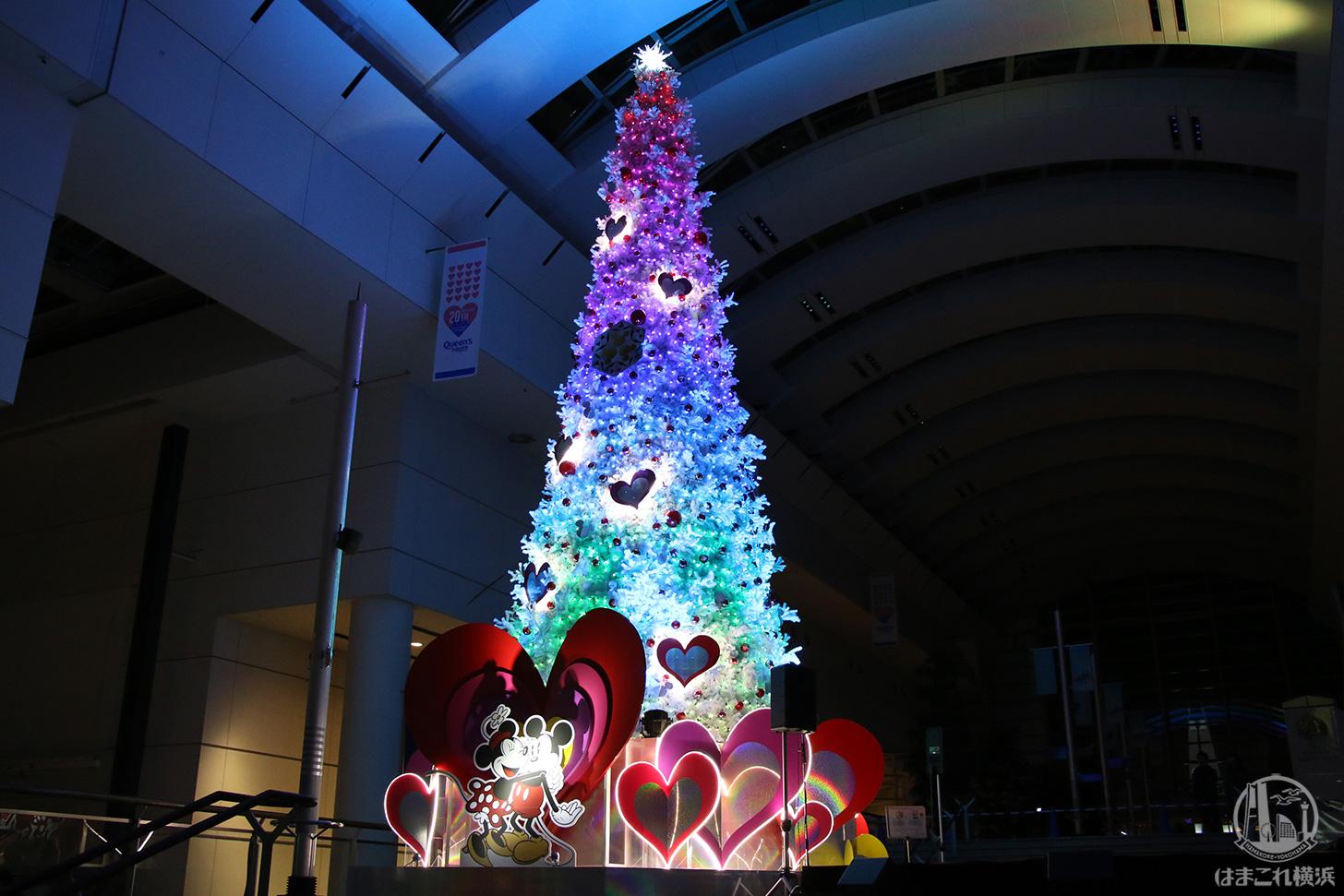 クリスマス・クイーンズスクエア横浜
