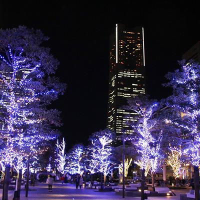 ヨコハマミライト みなとみらいから横浜駅を繋ぐイルミネーション1.5キロを辿ってきた!
